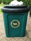 Ceaser 30 Litre Wall or Post Mountable Plastic Dog Waste Bin RED or GREEN