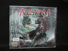 ALESTORM Back Through Time+2+Video Clip JAPAN CD Ensiferum Gloryhammer Turisas