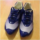 Alexander Mcqueen AMQ NY Womens Trainers Blue Ladies Casual Shoes -SALE PRICE