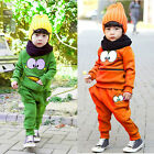 Baby Boy Girl Kid Cute Frog Sport Clothes T-shirt+ Pants Sportswear Outfit Set Z