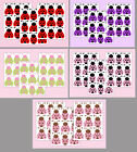 CHOOSE COLOR Ladybug Decals Wall Art Stickers Lady Bug Baby Nursery Kids Room