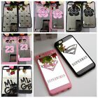 Glossy Mirror Face Creative Design Superior Phone Case Cover Bumper For iPhone