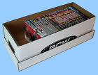 BCW: Storage Boxes: DVD MEDIA SIZE: 6 x 18½ x 7¾ inches *10ct/CASE-LOT