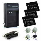 Canon NB-11L NB11L CB-2LFE Battery / Charger Pack For IXUS125 IXUS132 IXUS140