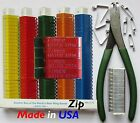 Zip Wing Bands Custom Stamped & Numbered Identification Tags Poultry Gamefowl