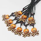 1/12  Brown Imitation Bone Resin lovely Smile Octopus Charms Pendant Necklace