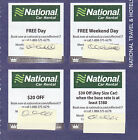 National Car Rental Coupons - Expire 6/30/2018 фото