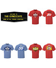 NASCAR Fan Up T-Shirt ALL SIZES CHOOSE EITHER CLINT BOYER, BRIAN VICKERS $12.99