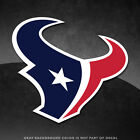 """Houston Texans Vinyl Decal Sticker - 4"""" and Larger - 3 Color - Glossy on eBay"""