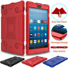 Shockproof Soft Rubber Armor Case Cover For Amazon Kindle Fire HD 8 2018 8th Gen