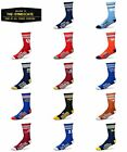 For Bare Feet NCAA 4 Stripe Deuce Crew Youth Socks (13, 1-5) -25 TEAMS TO CHOOSE