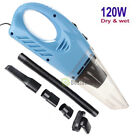 12V Wet Dry Vac Vacuum Cleaner Portable Inflator Turbo Hand Held for Car or Shop photo