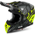 Airoh NEW Mx 2018 Aviator 2.2 Styling Yellow Matte Motocross Dirt Bike Helmet
