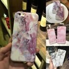 Art Glossy Granite Marble Soft Tpu Phone Case Cover For Iphone Xs Max 8 6 7 Plus