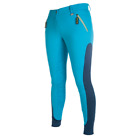 New! HKM Pro Team Silicone Full Seat Breeches