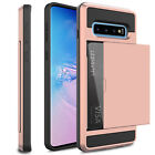 For Samsung Galaxy Note 8 Phone Case Card Pocket Wallet Shockproof Armor Cover