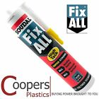 White Fix All high strength grab adhesive - single tube of Soudall FixAll