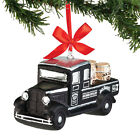 """4052182 Dept 56 4.7""""Jack Daniels Whiskey Delivery Truck Glass Christmas Ornament"""