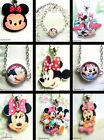 MINNIE MOUSE PENDANT NECKLACE BRACELET DAISY TSUM BABY ACRYLIC GLASS