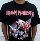 NEW! IRON MAIDEN TROOPER PUNK ROCK T SHIRT MEN'S SIZES image