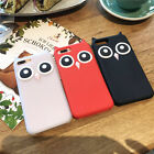 For Various Phone Case Cover New 3D Cute Owl Cartoon Animals Soft Silicone Back