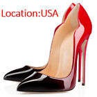 Womens Stiletto High Heels Pointed Toe Dress Party Pumps Shoes 5 6 7 8 9 10 11