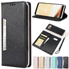 Shockproof Magnetic Flip PU Leather W/Strap Wallet Cards Case Cover For Samsung