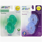 New Philips Avent Soothie Pacifier 0 - 3 Months 2 count BPA Free - Fast Shipping