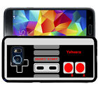 PERSONALIZED RUBBER CASE FOR SAMSUNG S8 S7 S6 S5 EDGE PLUS RETRO GAME CONTROLLER