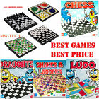 Snakes & ladder Ludo, Draught ,Chess Traditional Children family toy Board games