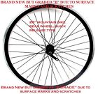 "NEW ""B GRADE"" 26"" MOUNTAIN BIKE REAR WHEEL,  MARKED / SCRATCHED BUT UNUSED NEW !"