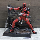 Deadpool Action Figure Moveable Garage Kits Collector Toy Model 7.4In. Sword New