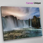 SC271 Niagra Falls Waterfall Scenic Wall Art Picture Large Canvas Print