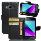 For Samsung Galaxy J1 Mini Prime SM-J106 PU Leather Wallet Case Flip Cover