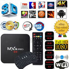 Android 6.0 S905X 1/2/3+8/16/32GB 2.4GHz WiFi HD Smart Internet TV Box +Keyboard