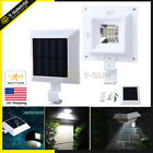 Solar Power Motion Sensor Outdoor Garden Security Gutter Spot LED Flood Light US