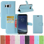 Flip Shockproof Stand Soft Leather Skin Case Cover For Samsung Galaxy Phones