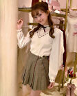 LIZ LISA - Stand-Up Collar Lace Blouse