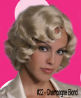 20S FINGERWAVE FINGER WAVE ROSE FLAPPER GATSBY COSTUME WIG DOWNTON ABBEY ROXIE