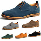 2017 Suede European style leather Shoes Mens oxfords Casual Multi Size Fashion