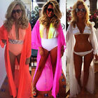 USA Sexy Women Chiffon Bikini Cover Up Swimwear Bathing Suit Summer Beach Dress