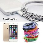 3/6/10 Ft Usb Fast Charger Charging Data Braided Strong Fabric Sync Cable Cord
