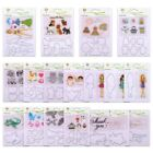 New Clear Stamps Metal Cutting Dies Stencils Scrapbooking Embossing Card Craft
