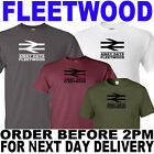 FLEETWOOD AWAY DAYS FOOTBALL TSHIRT (other colours available)