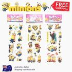 Minions Despicable Me kids 3D stickers gift lolly filler birthday party loot bag