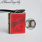 Bram Stoker's Dracula Book Locket Charm, Keychain or Pendant Necklace