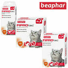 Beaphar Fiprotec Spot On Flea / Tick Treatment Solution for Cats Packs 1/3/6