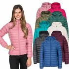 Trespass Trisha Womens Lightweight Down Jacket Puffer Coat with Hood