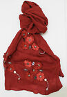 Luxurious Exceptional  Metallic Lace Large Shawl Scarf Hijab Sarong Wrap Cape