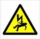 1007 Danger of Death sign weatherproof Aluminium Plaque PVC or Vinyl Sticker